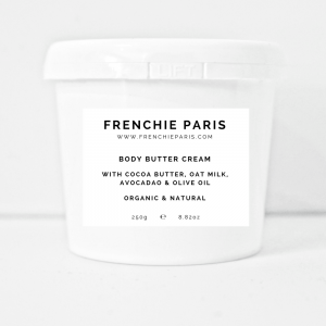 Frenchie Paris Body Butter Cream With Cocao Butter, Oat Milk, Avocado & Olive Oil Organic Natural 1 (2)