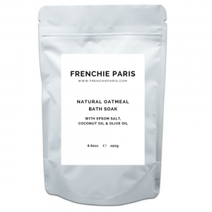 Frenchie Paris Natural Oatmeal Bath Soak With Epsom Salt Coconut Oil Olive Oil 1