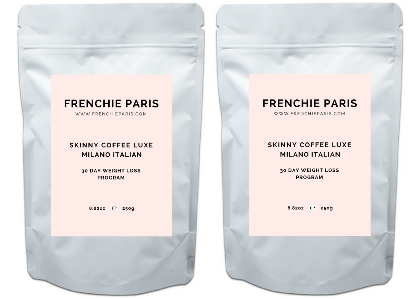 Frenchie Paris Skinny Coffee Luxe 60 Day Weight Loss Program Milano Italian 1