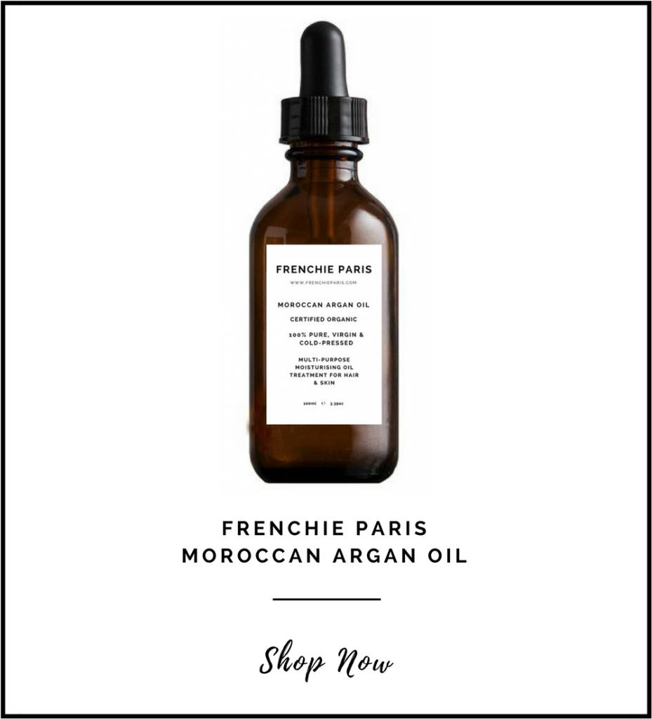 Frenchie Paris Best Moroccan Argan Oil Natural Organic Front Page 2