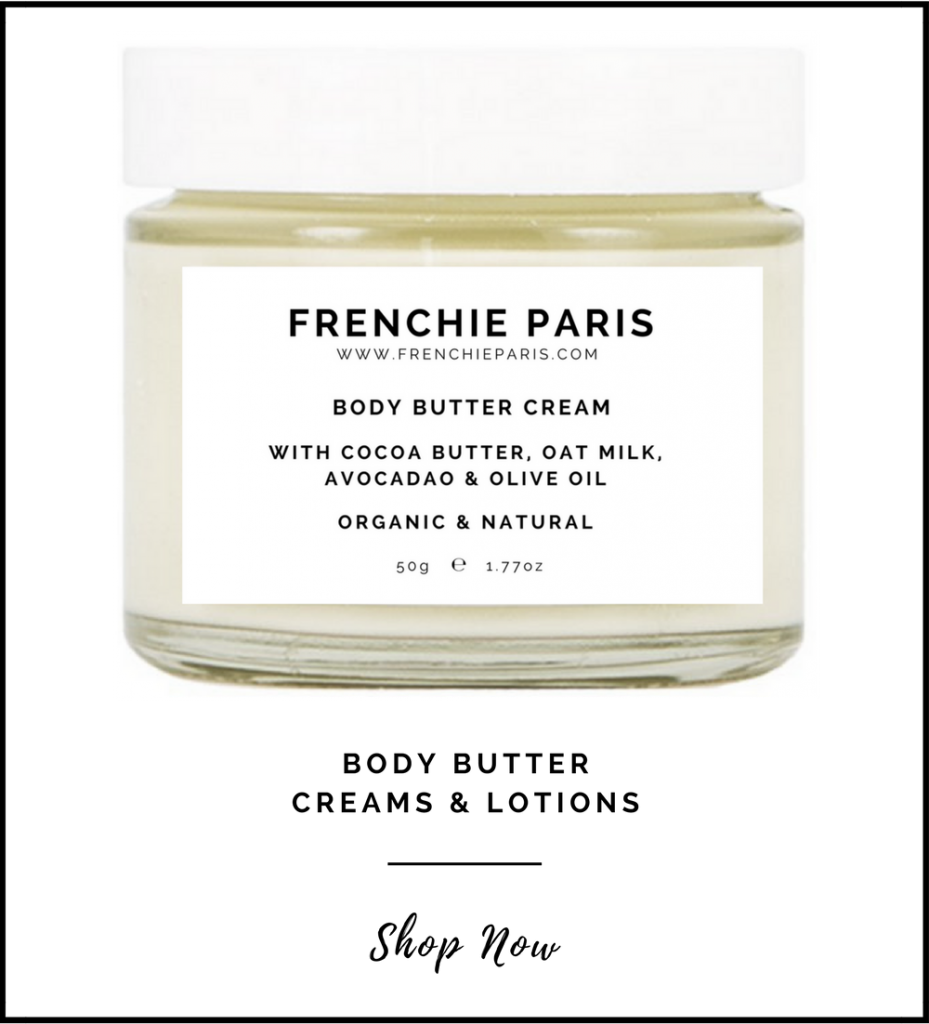 Frenchie Paris Body Butter Creams Lotions Natural Organic Front Page 2